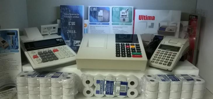 Aktualna ponuda fiskalne kase i oprema